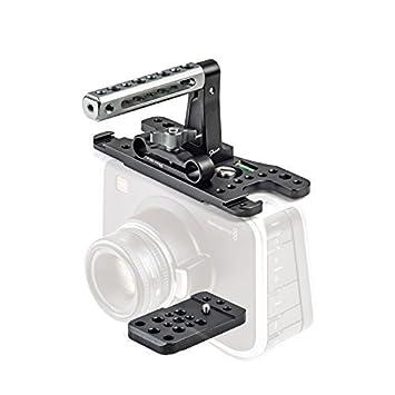 Esquiador Jaula para cámara BMCC Blackmagic Cinema Camera: Amazon ...