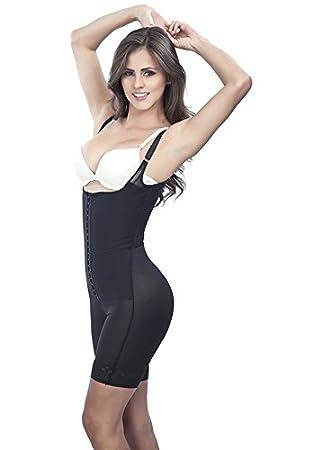c408d32a84978 Amazon.com   Lipo Express Women s Thin Strap Half Leg Shapewear Fajas  Colombianas Reductoras Ref 1601   Sports   Outdoors