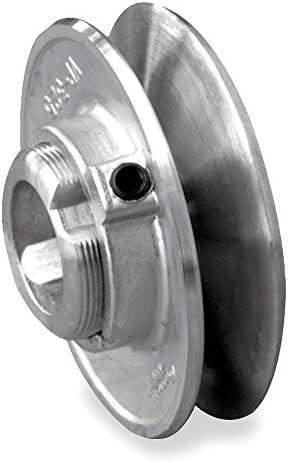 V-Belt Pulley 3.25OD 1//2VrPitch Zamak3