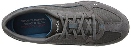nbsp;Just 22459 Donna Breathe Easy Grigio Ccbl Skechers Relax Sneaker Gray Wn7aE1A