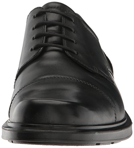 41TWjQvt7OL ECCO Men's Helsinki Cap Toe 39 EU/5-5.5 M Oxford, Black, 44 EU/10-10.5 M US