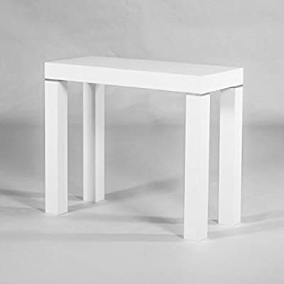 Group Design Mesa Consola Extensible Made in Italy Mezclas Blanco ...