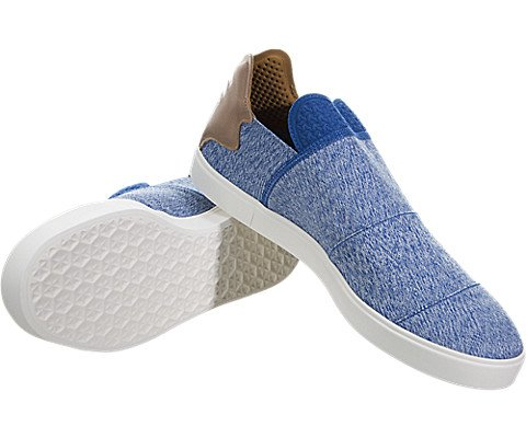 promo code 8c92a 9264c adidas x Pharrell Williams Men Vulc Slip-On (BlueClear GreyChalk