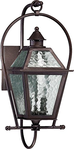 Cheap French Quarter Two Light Outdoor Wall Lantern in Oiled Bronze