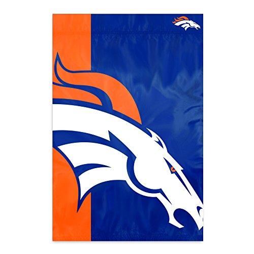 Party Animal Denver Broncos Bold Logo Banner NFL Flag - Bold Animal