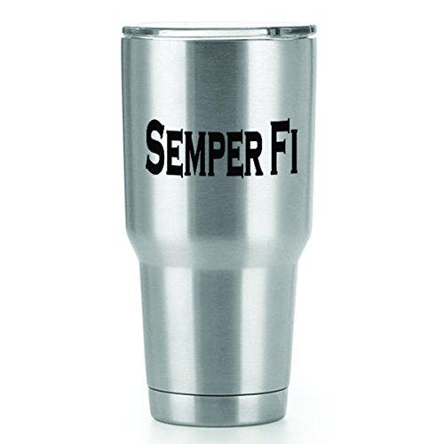Semper Fi Tattoos - Semper FI Vinyl Decals Stickers (