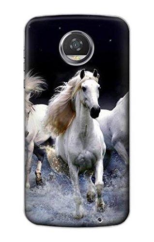 White Horse Funda Carcasa Case para Motorola Moto Z2 Play ...