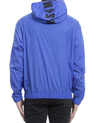 Msgm Homme 2240MH19X17403685 Bleu Polyamide Blouson