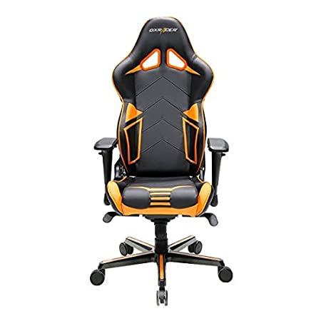 Dxracer Gaming Stuhl Oh Rv131 No R Serie Schwarz Orange Das