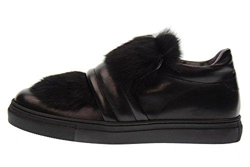 Noir B54829 Chaussures black Femme Basses de MORELLI Baskets Pour w7RSqAA4f