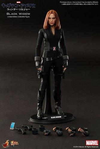 "41RbjRIjQYL [Movie Masterpiece ""Captain America / Winter Soldier"" 1/6 scale figure Black Widow (secondary shipments)"