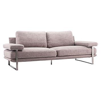 Amazon.com: Zuo Jonkoping Sofa, Wheat: Kitchen & Dining