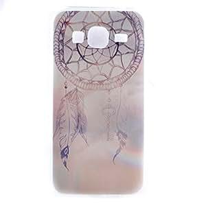 Galaxy Core Prime Case,Gift_Source [AIR CUSHION] Soft TPU [Capsule] [Purple Dream Catcher] Premium Flexible Soft TPU Slim Case for Samsung Galaxy Core Prime G360 / Prevail LTE Case