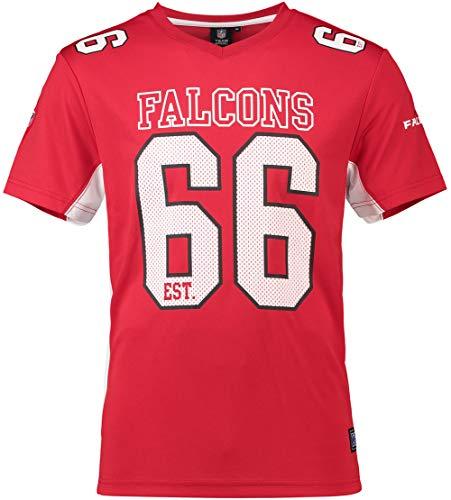 - Majestic Athletic Atlanta Falcons NFL Moro Poly Mesh Jersey Tee T-Shirt Trikot