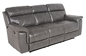 Amazon.com: Steve Silver Company DK850S Dakota Recliner Sofa ...