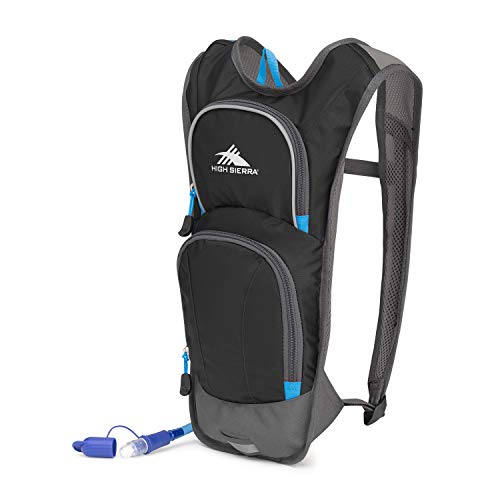 5102dd7bcf High Sierra HydraHike 4L Hydration Pack with 2L Reservoir Included (Black /Slate/Pool)