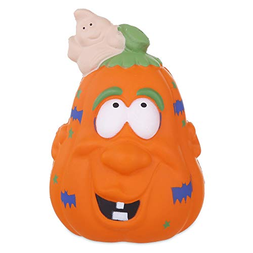 Anboor 4.5 Inches Squishies Halloween Pumpkin Slow Rising Kawaii Scented Squishies Decompression Squeeze Stress Relief Hop Props, Decorative Props Collection Toy -