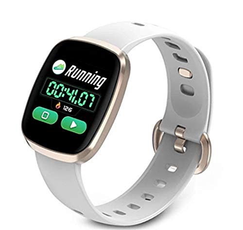Znshxx Smart Wristband Full Touch Screen Smart Watch Color Screen Waterproof Bluetooth Sports Bracelet GT103 Smart Bracelet Fitness Trackers (Color : - 2.6 Band Screen Touch