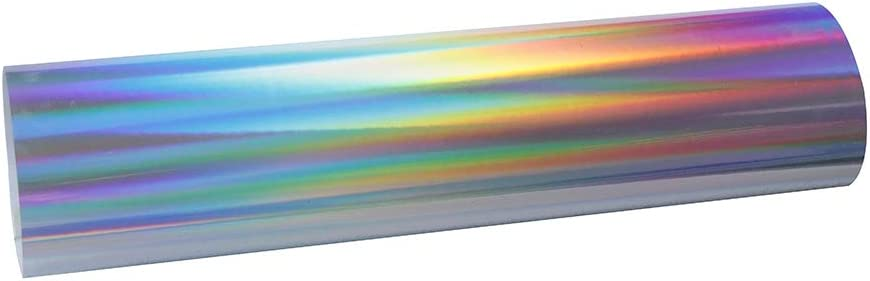 HOHOFILM - Rollo de vinilo holográfico de transferencia de calor ...