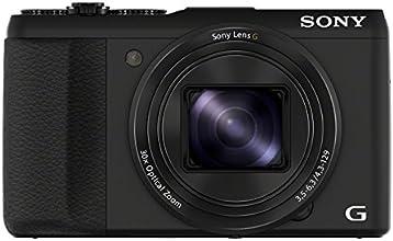 Sony HX50 Fotocamera Compatta 20.4 Megapixel, Sensore CMOS Exmo R, Zoom Ottico 30x, Display LCD 3.0 Pollici, Nero