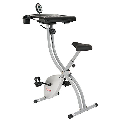 Sunny Health & Fitness SF-BD2701 Exercise Magnetic Resistance Belt Quiet & Large Work Surface Desk Bike Sunny Distributor Inc.