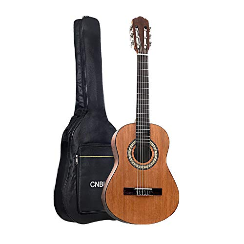 Classical Acoustic Guitar Kid 36 inch 3/4 Size Child Beginner Rosewood Guitar Nylon Strings