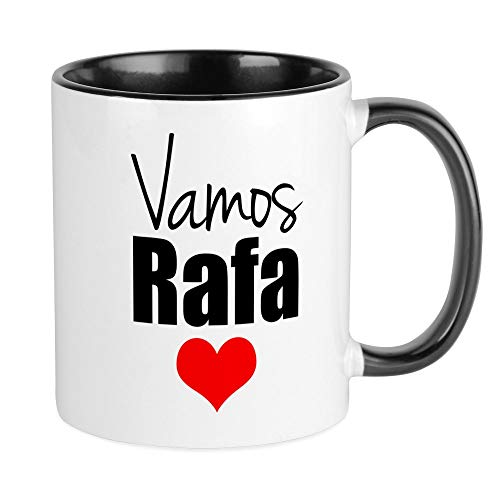 CafePress Vamos Rafa Love Mugs Unique Coffee Mug, Coffee for sale  Delivered anywhere in USA