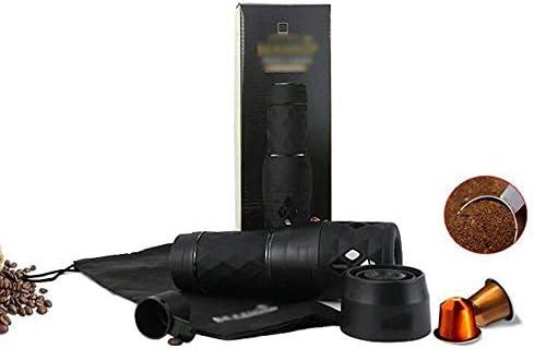 HL-TD Tragbare Kaffeemaschine Kapseln Espresso-Maschine-Maschine Handbetriebene Keine Batterie Erforderlich Perfekte Reise Mühle