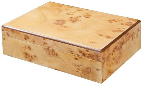 Amazoncom Best Selling Natural Burl Wood Jewelry Box Home Kitchen