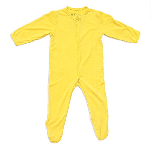 Kyte BABY Solid Footies (3-6 Months, Sunshine) ()