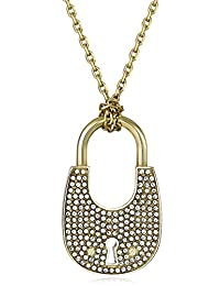 Michael Kors Heritage Padlock Pendant Necklace