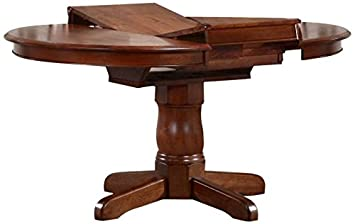 Wonderful Iconic Furniture Round Dining Table, 42u0026quot; X 42u0026quot; X 60u0026quot;,  Cinnamon
