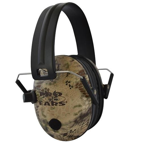 Pro Ears - Pro 200 - Electronic Hearing Protection and Amplification Ear Muffs - Low Profile Design - Highlander by Pro Ears