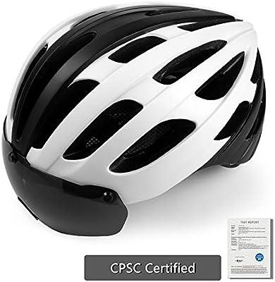 Shinmax Casco de Bicicleta Adult, Casco Bicicleta de Carretera ...