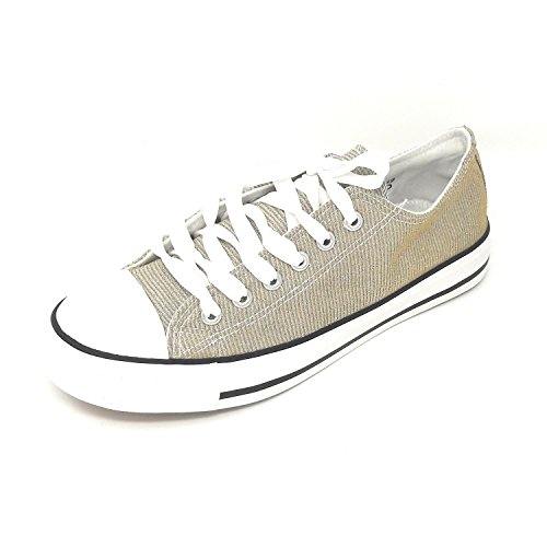 Gold Donna JT Low Top H12 aCB4qI
