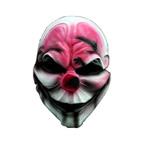 YUFENG Resin Hoxton Masquerade Costume Animated Mask Guy Fawkes Day For Collection(horror mask)