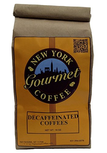 (Decaffeinated Peppermint Patty Coffee | 1Lb bag - Extra-Fine Grind | New York Gourmet Coffee)
