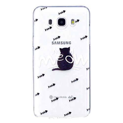SHUNDA Funda Galaxy J5 2016, Carcasa Ultra Delgado de Suave TPU Silicona Funda Linda Slim Soft Cute Cubierta para Samsung...