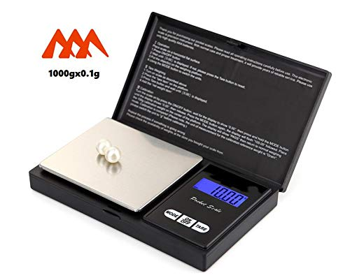 Standpro Weigh Scale SP-1000 Digital Pocket Scale, 1000g X 0.1g Resolution ()