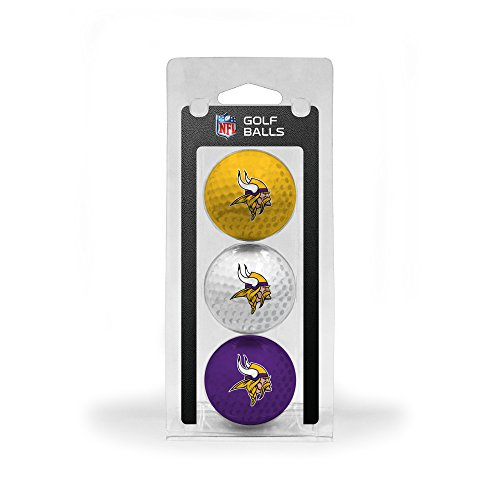 NFL Minnesota Vikings 3 Golf Ball Pack by Team Golf