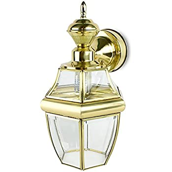 Motion Activated Outdoor Hanging Carriage Wall Light