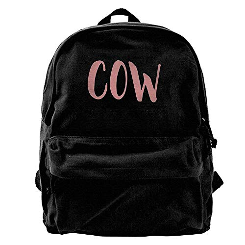 Shoulder Canvas Fashion Fgregtrg Cow Backpack YUHqw