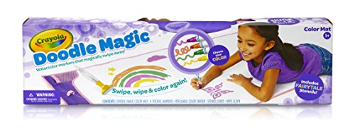 Crayola Mat-Fairytale Doodle Magic Color (Egg Free Markers)