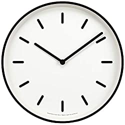 Lemnos MONO Clock White LC10-20B WH