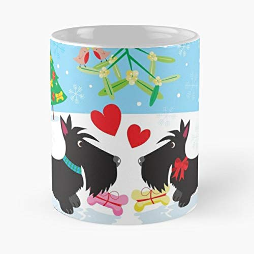 - Sc The Best Gift For Holidays Coffee Mugs - 11 Oz