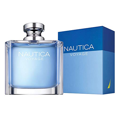 Nautica Voyage Eau de Toilette Spray for Men, 3.4 Fl. Oz