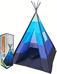 Teepee Tent for Kids | Tepee Play Tent Indoor and Outdoor Portable | Play Tent for Boy and Girls | Childrens P
