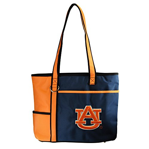 NCAA Auburn Tigers Tote Bag with Embroidered Logo