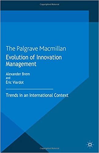 Book Evolution of Innovation Management: Trends in an International Context
