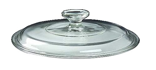 (Corning Ware / Pyrex Clear Round Glass Lid ( Clear ) ( 8 3/8